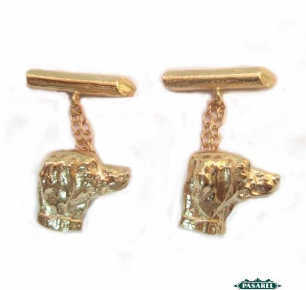 Details about  /New French Horn Cuff Links Gold Plated French Horn Cuff Link 0399
